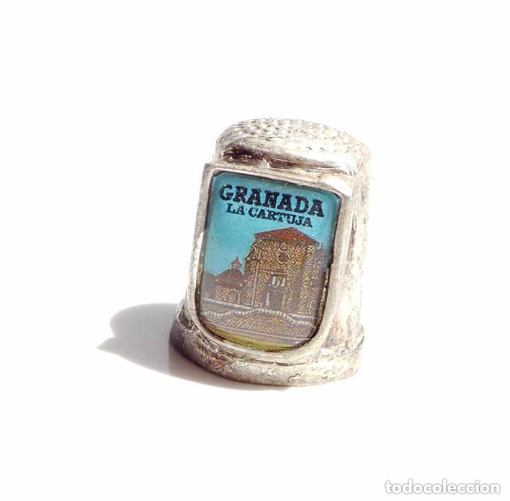 Coleccionismo de dedales: DEDAL GRANADA LA CARTUJA - Foto 3 - 128577311