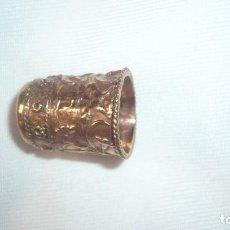 Coleccionismo de dedales: DEDAL DE BRONCE. Lote 138112606