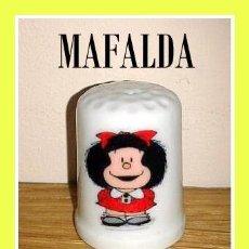 Coleccionismo de dedales: DEDAL MAFALDA. Lote 143831777