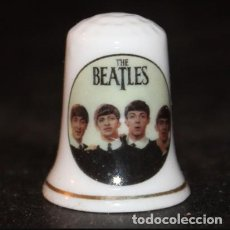 Collectionnisme de dés à coudre: DEDAL PORCELANA - THE BEATLES. Lote 184485971