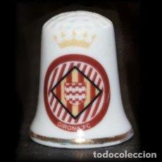 Collezionismo di ditali: DEDAL PORCELANA - GIRONA FC. Lote 117149647