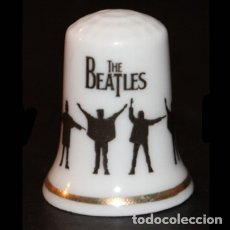 Collectionnisme de dés à coudre: DEDAL PORCELANA - THE BEATLES. Lote 153132016