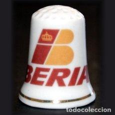 Coleccionismo de dedales: DEDAL PORCELANA - IBERIA LINEAS AEREAS. Lote 227054137