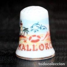 Coleccionismo de dedales: DEDAL PORCELANA - MALLORCA. Lote 127487983