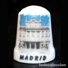 Collezionismo di ditali: DEDAL PORCELANA - MADRID. Lote 104982895