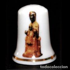 Coleccionismo de dedales: DEDAL PORCELANA - LA MORENETA (MARE DE DEU DE MONTSERRAT) - CATALUNYA. Lote 166546588
