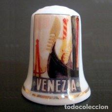 Coleccionismo de dedales: DEDAL PORCELANA - VENECIA (VENEZIA). Lote 166567846