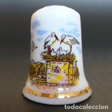Collezionismo di ditali: DEDAL PORCELANA - CIGÜEÑAS. Lote 41716285