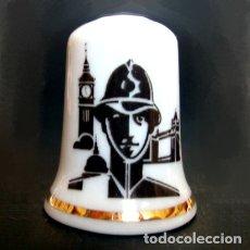 Coleccionismo de dedales: DEDAL PORCELANA - LONDRES. Lote 93577884
