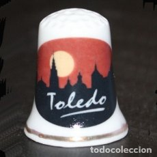 Collezionismo di ditali: DEDAL PORCELANA - TOLEDO. Lote 223695330