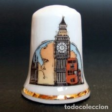 Coleccionismo de dedales: DEDAL PORCELANA - LONDRES. Lote 251392535