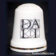 Coleccionismo de dedales: DEDAL PORCELANA - DALI. Lote 137891586