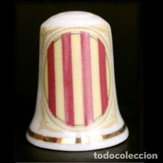 Coleccionismo de dedales: DEDAL PORCELANA - GENERALITAT DE CATALUNYA. Lote 251392075