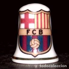 Coleccionismo de dedales: DEDAL PORCELANA - FC BARCELONA. Lote 223695242