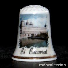 Collezionismo di ditali: DEDAL PORCELANA - EL ESCORIAL. Lote 223695391