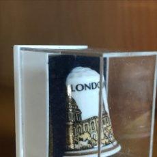 Coleccionismo de dedales: DEDAL DE PORCELANA. ST PAUL'S LONDON. Lote 177040263