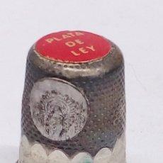 Coleccionismo de dedales: DEDAL DE PLATA. Lote 180890681