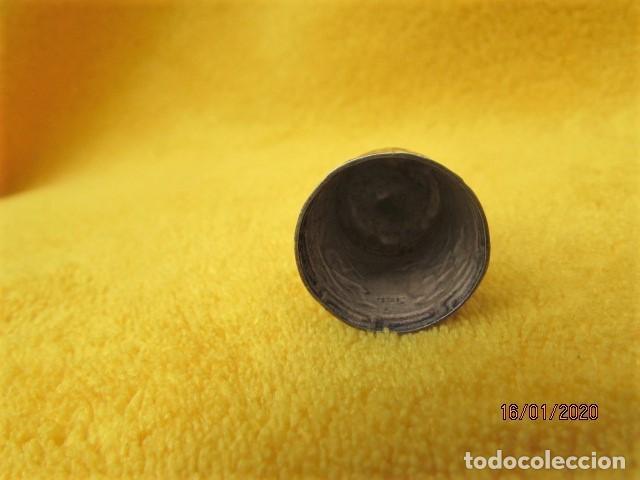 Coleccionismo de dedales: RARO DEDAL ÉPOCA COLONIAL DECORACIÓN ANDINA DE PLATA LEY 925 - Foto 4 - 191015395