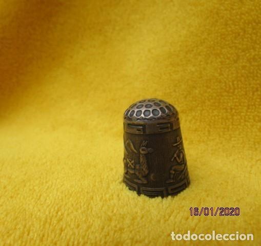 Coleccionismo de dedales: RARO DEDAL ÉPOCA COLONIAL DECORACIÓN ANDINA DE PLATA LEY 925 - Foto 6 - 191015395