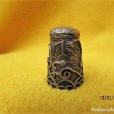 Coleccionismo de dedales: RARO DEDAL MARCADO 925 MEXICO SILVER DETALLADO. Lote 191015720