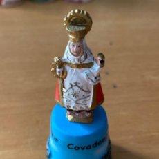 Colecionismo de dedais: DEDAL VIRGEN COVADONGA. Lote 203597017