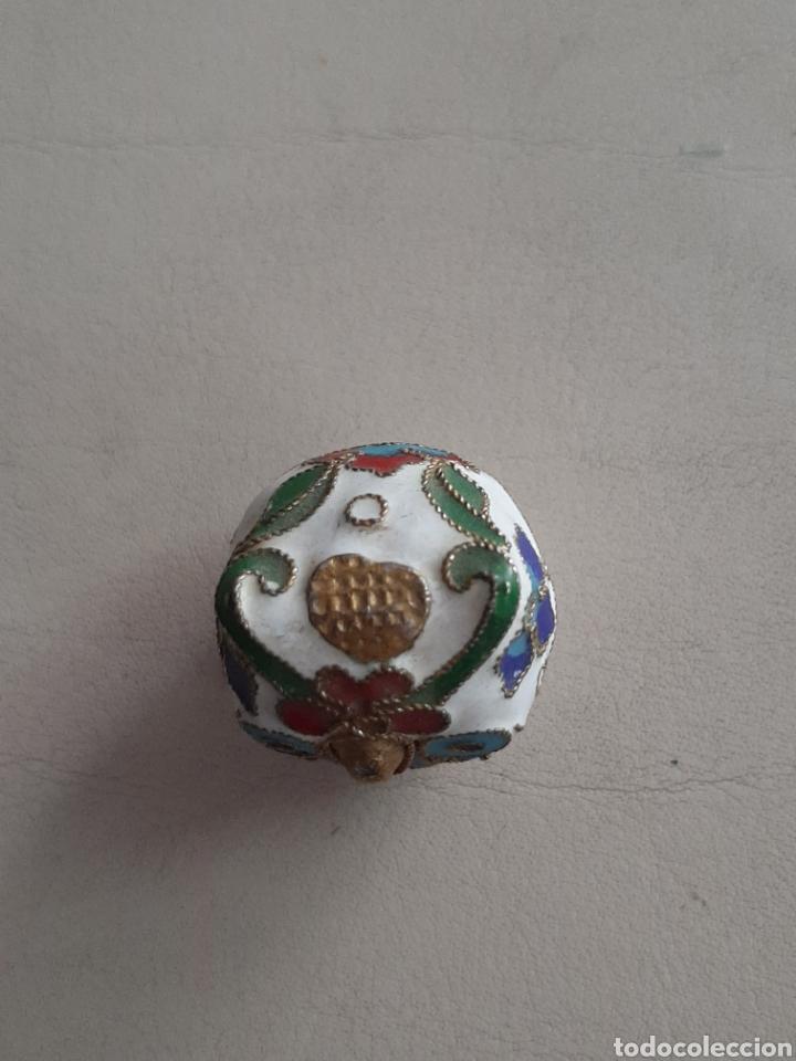 Coleccionismo de dedales: DEDAL DE METAL ESMALTADO BUHO - Foto 3 - 207107296