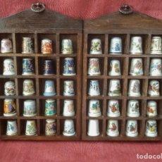 Coleccionismo de dedales: COLECCIÓN DE DEDALES 40 UNIDADES. Lote 213381275