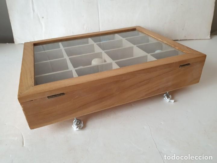 Coleccionismo de dedales: Caja expositor con 24 dedales + 2 cajitas. - Foto 6 - 221893700