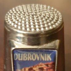 Coleccionismo de dedales: DEDAL METAL DUBROVNIK. Lote 230913430