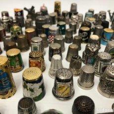 Collezionismo di ditali: 375 SÉDALES DE METAL Y CERAMICA. Lote 234657325