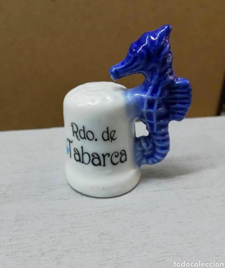 ~ DEDAL RECUERDO DE TABARCA ~ (Coleccionismo - Dedales)