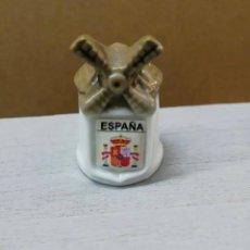Coleccionismo de dedales: ~ DEDAL MOLINO ESPAÑA ~. Lote 239707895