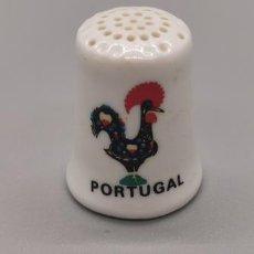Coleccionismo de dedales: DEDAL PORCELANA - PORTUGAL. Lote 244182270