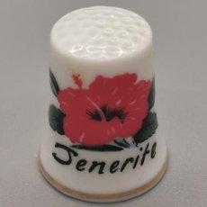 Coleccionismo de dedales: DEDAL TENERIFE. Lote 244182880
