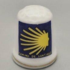 Coleccionismo de dedales: DEDAL DEL CAMINO DE SANTIAGO.. Lote 244183960