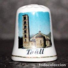 Coleccionismo de dedales: DEDAL PORCELANA - TAÜLL. Lote 251477915