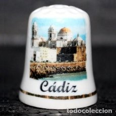 Collezionismo di ditali: DEDAL PORCELANA - CADIZ. Lote 251493525