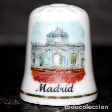 Collezionismo di ditali: DEDAL PORCELANA - MADRID (PUERTA DE ALCALA). Lote 251495910