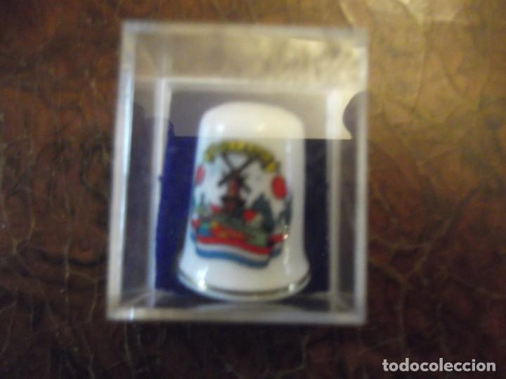Coleccionismo de dedales: Dedal Porcelana de Holanda , colección vintage privada - Foto 2 - 259941050