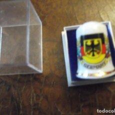 Coleccionismo de dedales: DEDAL GRANDE PORCELANA DE ( GERMANY ) ALEMANIA , COLECCIÓN VINTAGE PRIVADA. Lote 259941560