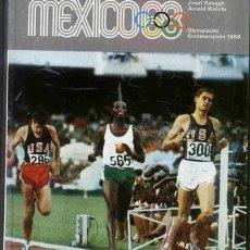 Coleccionismo deportivo: ALBUM COMPLETO JUEGOS OLIMPICOS MEXICO 1968. Lote 26498356