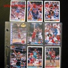 Coleccionismo deportivo: LOTE DE 12 TRADING CARDS BASKETBALL - NBA - UPER DECK 92-93. Lote 1338123