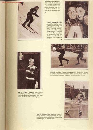 JUEGOS OLIMPICOS OSLO 1952. ALBUM DE CROMOS COMPLETO. (Coleccionismo Deportivo - Álbumes otros Deportes)