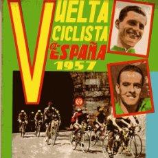 Coleccionismo deportivo: BUELTA CICLISTA A ESPAÑA 1957,ESTA NUEVO Y VACIO. Lote 16660090