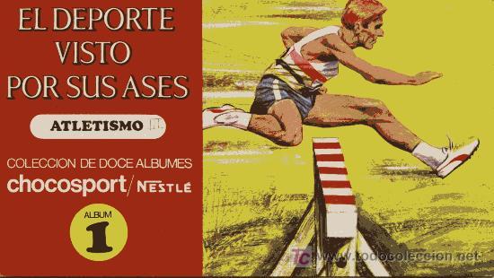 EL DEPORTE VISTO POR SUS ASES - NESTLÉ (Coleccionismo Deportivo - Álbumes otros Deportes)