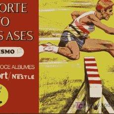Coleccionismo deportivo: EL DEPORTE VISTO POR SUS ASES - NESTLÉ. Lote 26677421