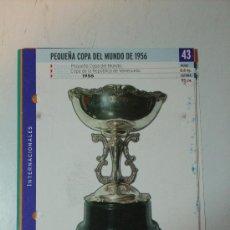 Collectionnisme sportif: R.MADRID, PEQUEÑA COPA DEL MUNDO 1956. Lote 7761964