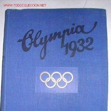 Coleccionismo deportivo: JUEGOS OLIMPICOS LOS ANGELES 1932. OLIMPIADA. ALBUM DE CROMOS COMPLETO. 200 CROMOS COLOR Y B/N. Lote 25467464