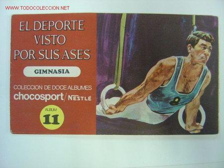 EL DEPORTE VISTO POR SUS ASES - GIMNASIA - CHOCOSPORT/NESTLE - 1967 (Coleccionismo Deportivo - Álbumes otros Deportes)