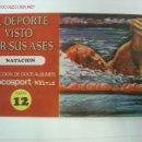 Coleccionismo deportivo: EL DEPORTE VISTO POR SUS ASES - NATACION - CHOCOSPORT/NESTLE - 1967. Lote 21147824
